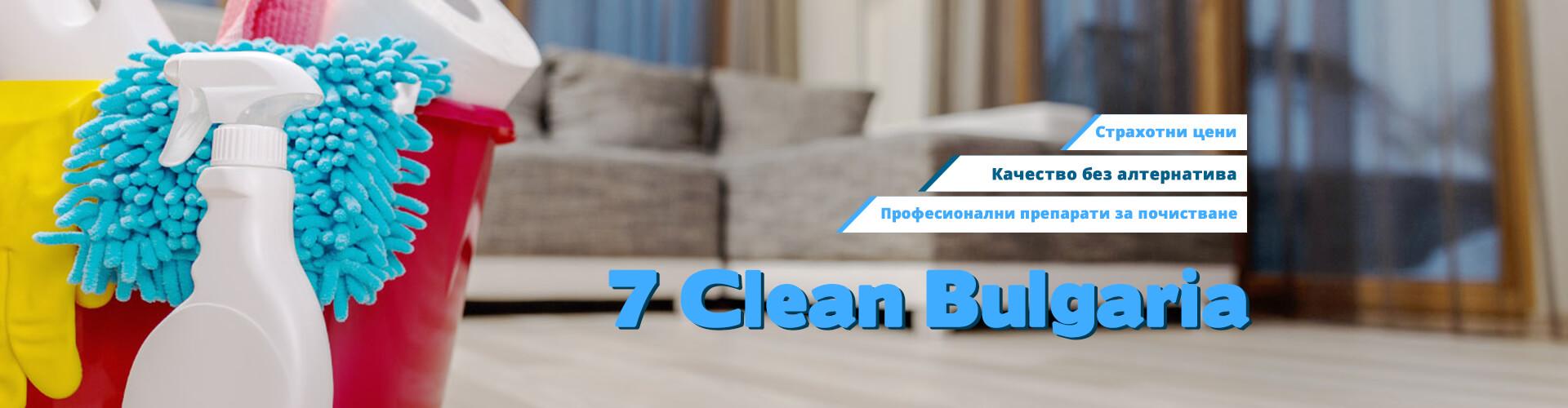 Професионално почистване в Пловдив